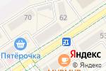 Схема проезда до компании Coral Travel в Альметьевске