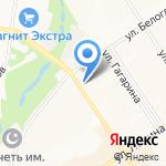 Добрый пекарь на карте Альметьевска