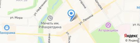 Новация на карте Альметьевска
