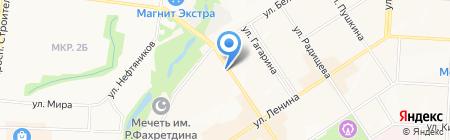 Мир мяса на карте Альметьевска