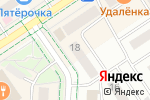 Схема проезда до компании Роксолана в Альметьевске