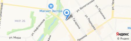 3D на карте Альметьевска