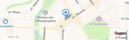 Альтернативная оценка на карте Альметьевска