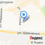 Магазин портьерных тканей на карте Альметьевска