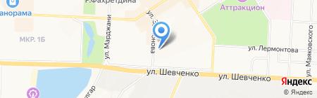Портьерные ткани на карте Альметьевска