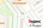 Схема проезда до компании Компьютерный маг в Альметьевске