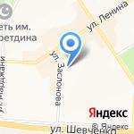 Хезинэ на карте Альметьевска
