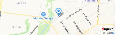 ВелоДрайв на карте Альметьевска