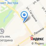 Татнефть на карте Альметьевска