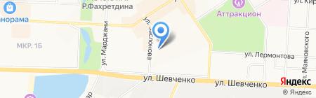 ИДЕЯ-ЭНЕРГО на карте Альметьевска
