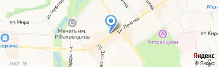 Магазин зоотоваров на ул. Ленина на карте Альметьевска