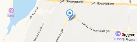 Технология кровли на карте Альметьевска