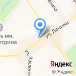 Магазин детской одежды на карте Альметьевска