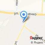 Дорога Сервис на карте Альметьевска