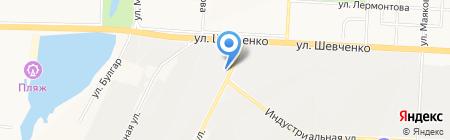 Металлокровля на карте Альметьевска