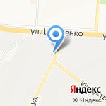 Орда на карте Альметьевска