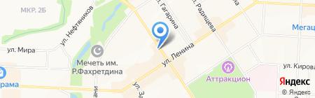 ТВ Спутник на карте Альметьевска