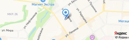 Детский сад №19 Звездочка на карте Альметьевска