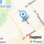 Звездочка на карте Альметьевска