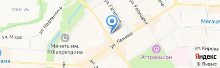 Вика клубника на карте Альметьевска