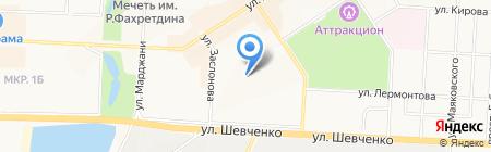 Детский сад №30 Снегурочка на карте Альметьевска