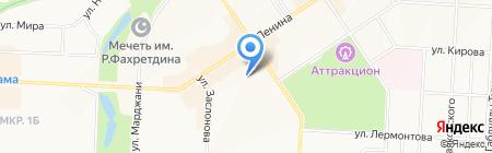 Детский сад №48 Веснянка на карте Альметьевска