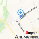 ЗОЛУШКА на карте Альметьевска