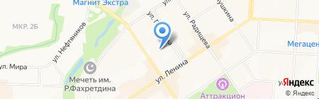 Детский сад №20 Петушок на карте Альметьевска