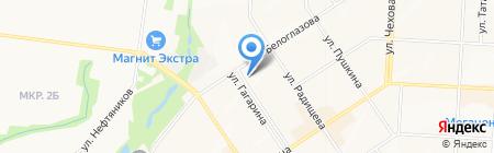 Beerжа на карте Альметьевска