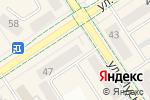 Схема проезда до компании Новинка в Альметьевске
