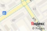 Схема проезда до компании Водник в Альметьевске