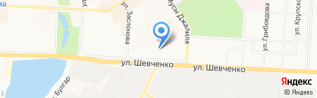 Инспекция государственного строительного надзора Республики Татарстан на карте Альметьевска