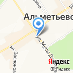 Академия праздника на карте Альметьевска