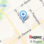 Юность на карте Альметьевска