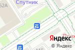 Схема проезда до компании Красный восток в Альметьевске