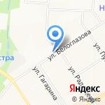 Красный восток на карте Альметьевска