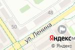Схема проезда до компании Планета оптика в Альметьевске