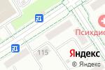Схема проезда до компании Инсайт в Альметьевске