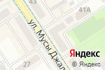 Схема проезда до компании Нотариус Горшунова Ф.Р. в Альметьевске