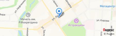 Идеал на карте Альметьевска