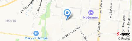 УИИ на карте Альметьевска