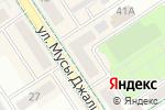 Схема проезда до компании Bona Dea в Альметьевске