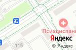 Схема проезда до компании Мирас в Альметьевске