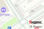 Схема проезда до компании Продуктовый магазин в Альметьевске