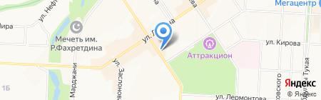 Бьюти маркет на карте Альметьевска