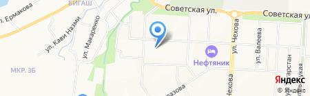 ЮБМ\/БИЗНЕС СЕРВИС на карте Альметьевска
