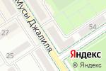 Схема проезда до компании Грация в Альметьевске