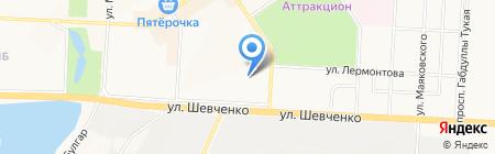 Детский сад №31 Солнышко на карте Альметьевска