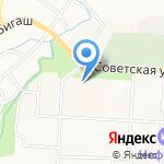 Автоклуб на карте Альметьевска