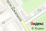 Схема проезда до компании Гастроном №12 в Альметьевске